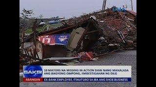 Saksi: 10 mayors na missing in action daw nang manalasa ang bagyong Ompong, iimbestigahan ng DILG