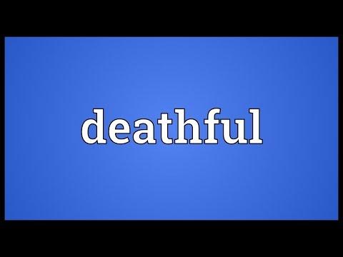 Header of deathful