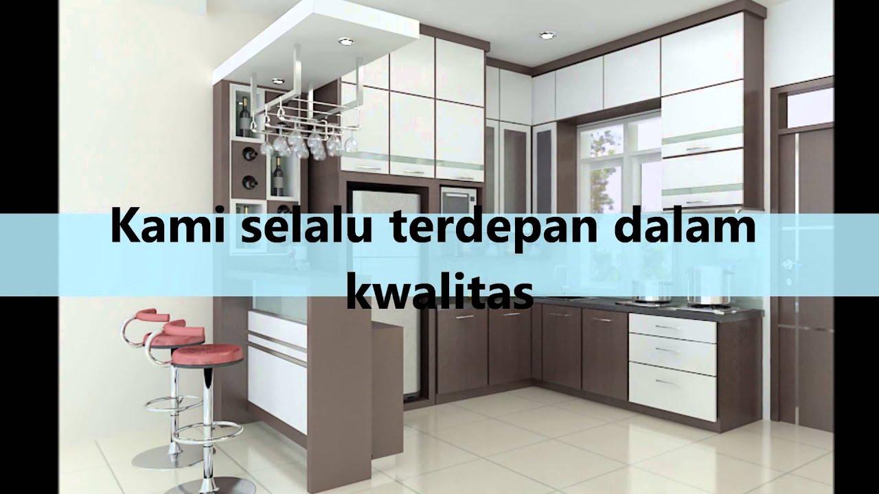 Interior kitchen set 081276219888 cv batamku indah interior - YouTube