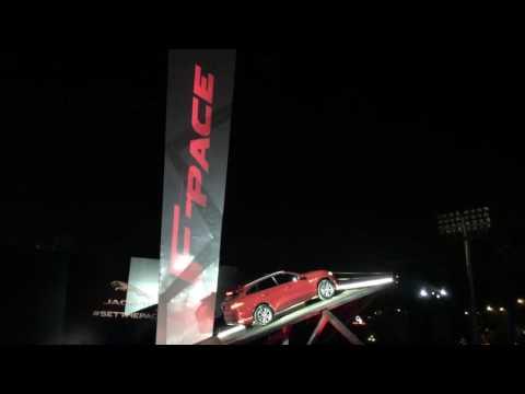 Jaguar F-Pace India Launch