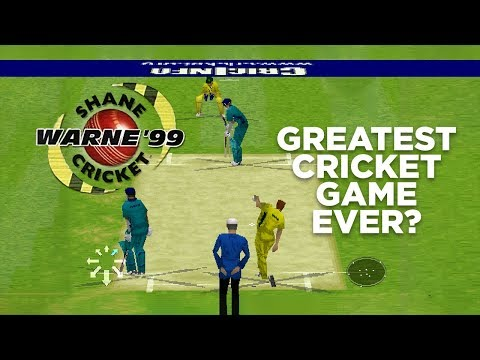 SHANE WARNE CRICKET '99 | THE GREATEST CRICKET GAME EVER?