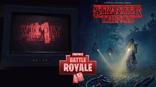 FORTNITE X STRANGER THINGS CROSSOVER NETFLIX COLLAB NEW STRANGER THINGS SKINS COMING CONFIRMED LEAK!