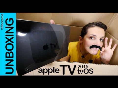 Apple TV 2015 con tvOS unboxing en español
