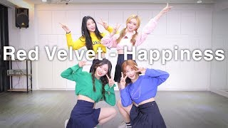 Gambar cover [ FRIENDS ] Red Velvet (레드벨벳) - Happiness (행복) Dance Cover (#DPOP Friends)