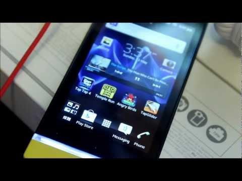 Xperia U Unboxing & Review HD