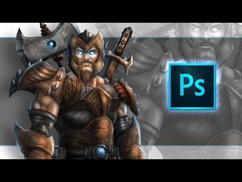 Digital Painting Character Art in Photoshop - Udemy Course