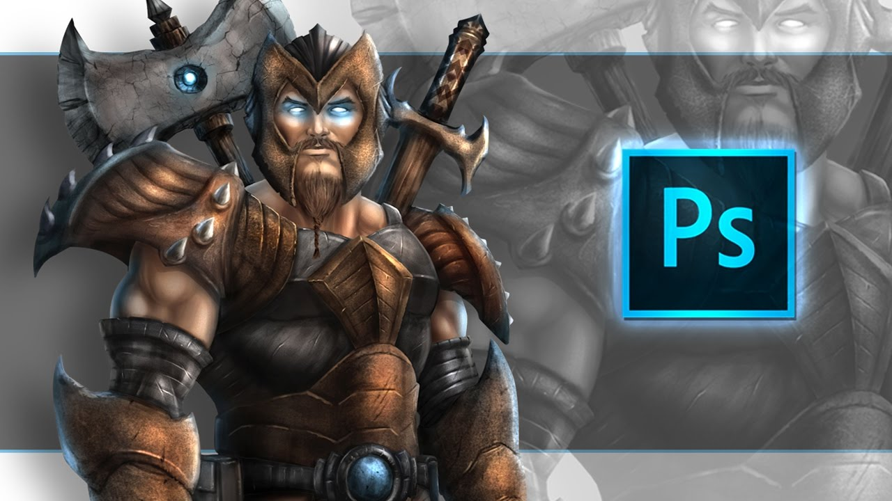 Digital Painting Character Art in Photoshop - Udemy Course ...