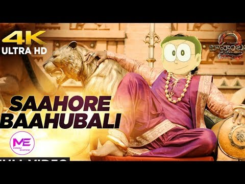 || Sahoo re bahubali || Bahubali 2 song spoof by Doraemon Nobita Version || Manu Empire ||