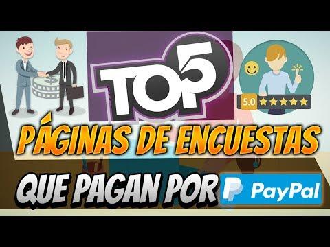 TOP 5 Páginas Para Ganar Dinero Con Encuestas Que Si Pagan [Dinero Para PayPal]