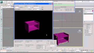 Architectural Tutorial On 3ds Max - Cabinet-part1