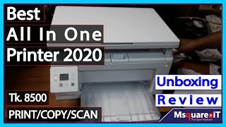 All In One Printer | HP Laserjet Pro M130a Printer Install / Review / unboxing / Scan /Copy/Print