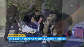 7 wounded in late-night shooting at Riverside nightclub I ABC7