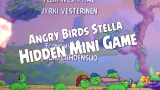 Angry Birds Stella Keep the Pigs Up in the Air Mini Game Hidden in Credits