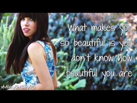 Carly Rae Jepsen & Justin Bieber - Beautiful (with lyrics)