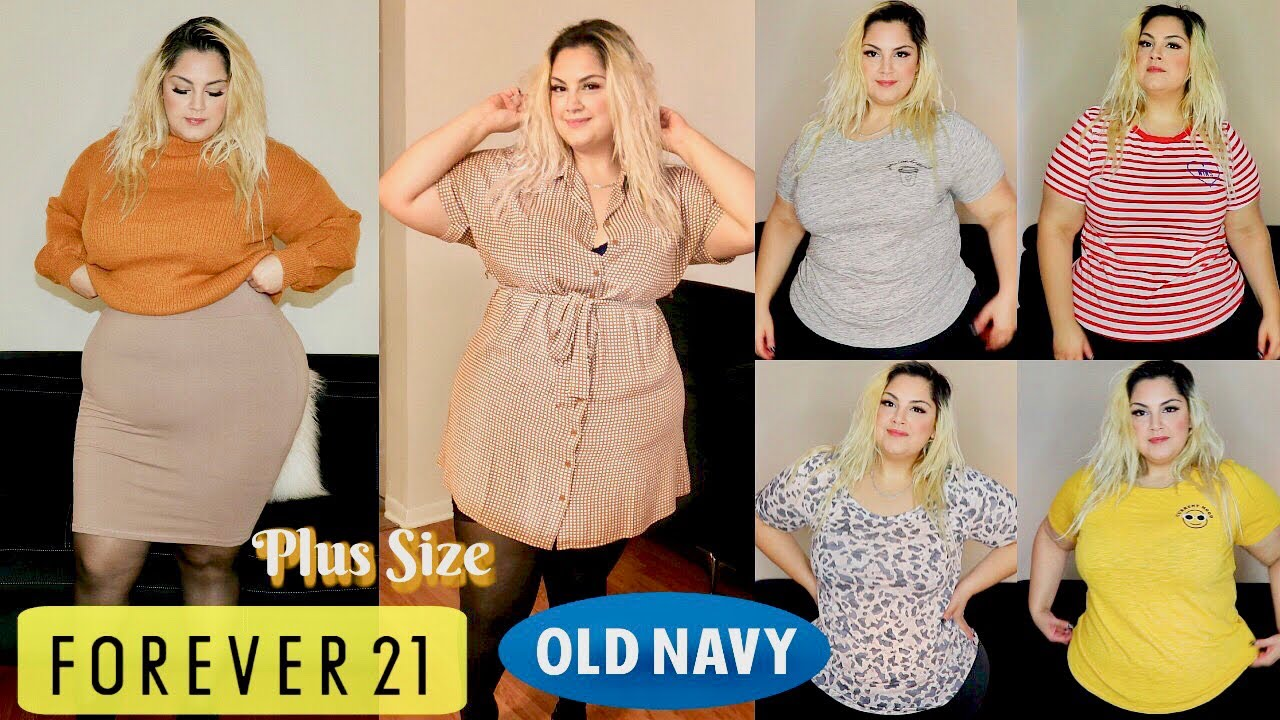 f3e5cc428ba Forever21 + Old Navy Plus Size Haul