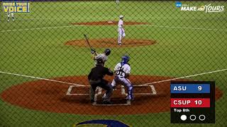 Angelo State Baseball - CSU - Pueblo Highlights and Reaction