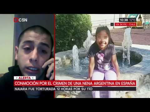 Conmoción por el crimen de una nena argentina de 8 años en España. Habla el padre biológico