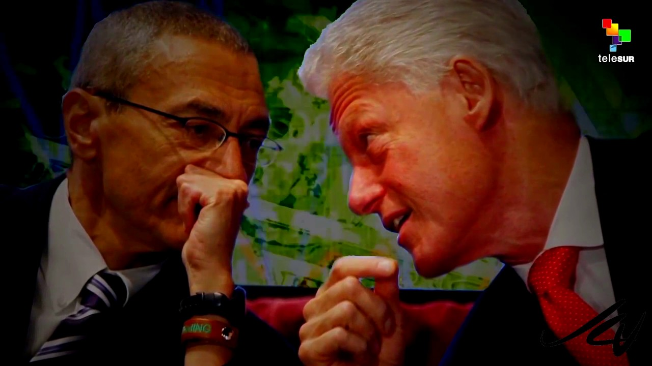 Podesta, Hillary Clinton, Wikileaks, Russia - The corrupt Clinton Elite -  Abby Martin YouTube
