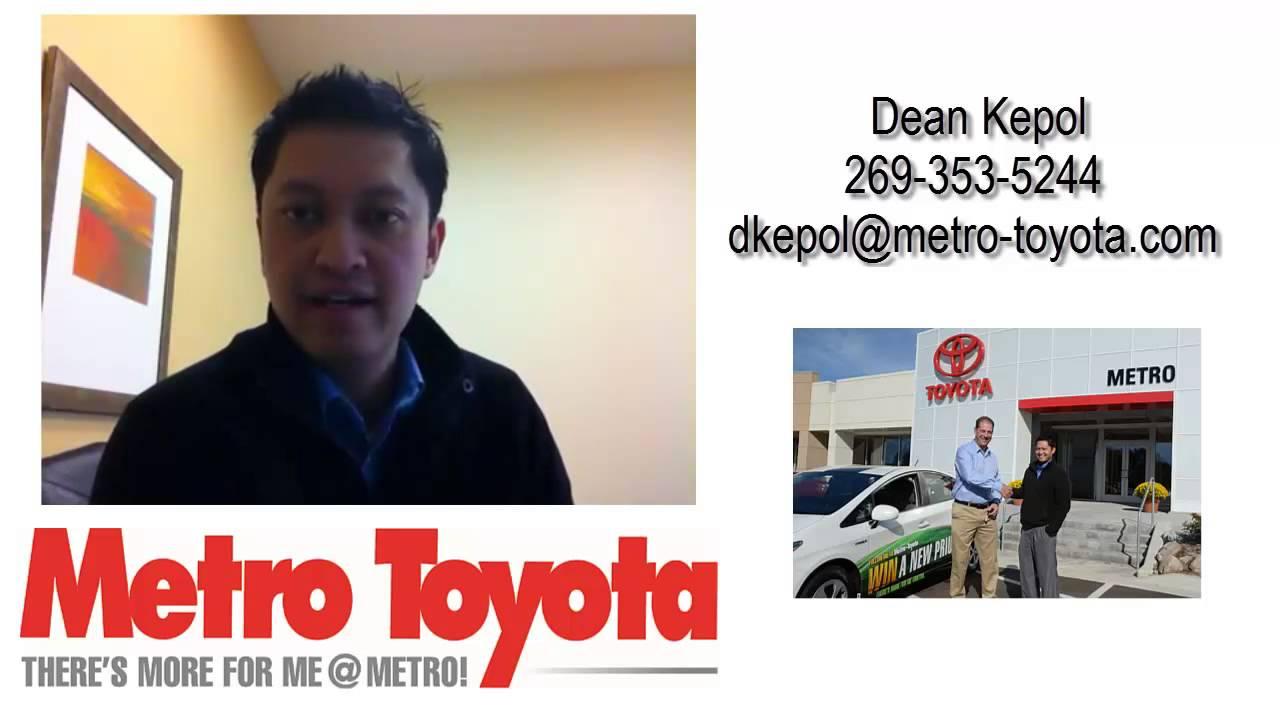 Superb Dean Kepol At Metro Toyota In Kalamazoo, MI