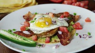 Enjoy this Breakfast Tostada Recipe