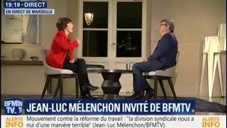 Jean-Luc Mélenchon face à Ruth Elkrief - [ 17/11/2017 - BFMTV ]