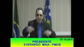 Pronunciamento Everardo Maia 07 10 16