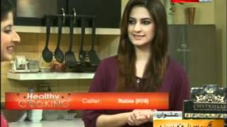 ''healthy Cooking'' - Ep# Chicken Hara Masala & Corn Chaat Part-2/4 (11-june-12) Health Tv.mpg