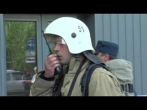 25 мая на базе торгового центра «Звездный» прошли комплексные пожарно-тактические учения