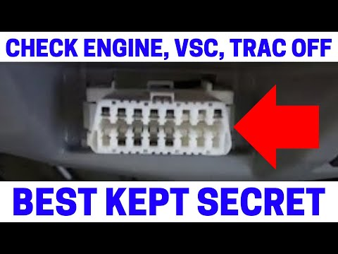 (Part 4) How To Fix Your Check Engine, VSC, Trac Off Warning Lights On With Zero Point Calibration