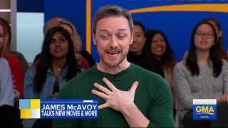 James McAvoy on 'GMA'