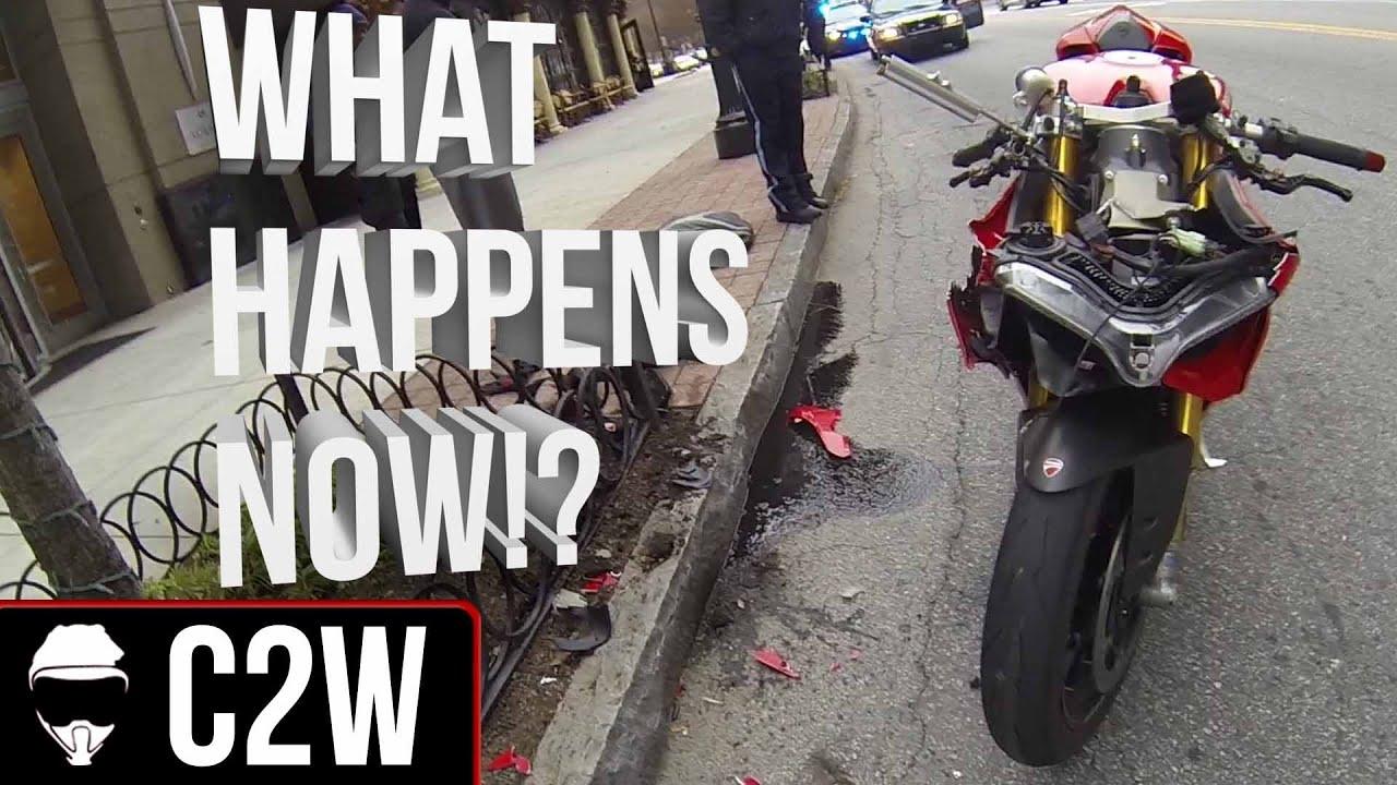 Ducati  V Crashed