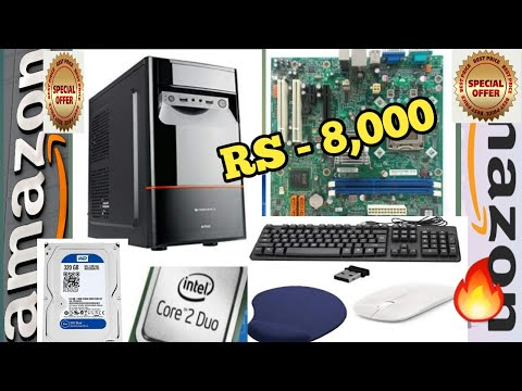 🔥Kanget Assemble Desktop PC CPU with 320 GB HDD | 4 GB DDR3 RAM | WiFi | Mouse & Keyboard |