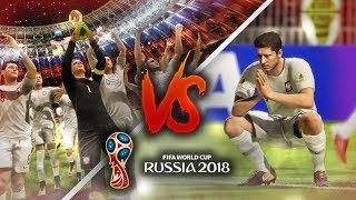 Co się stanie gdy PRZEGRAMY / WYGRAMY FINAŁ MISTRZOSTW ŚWIATA | FIFA 18 World Cup