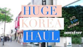 korea seoul haul got7 exo giveaway