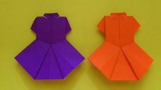 Cara Membuat Origami Baju Seragam Sekolah | Origami Baju