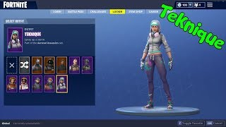 SAISON 4 TEKNIQUE SKIN IN FORTNITE BATTLE ROYALE!