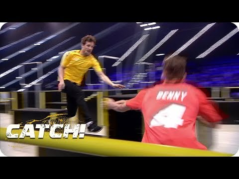 Match 4: Obstacle Race - Teil 2 - CATCH! Die Deutsche Meisterschaft im Fangen