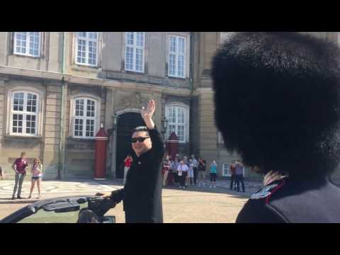 Kim Jong Un kicked out from a Danish Castle