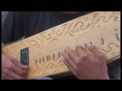 How to Play the Sape' Instrument : 3 fingering basic by Alfonsus Ide Krisma