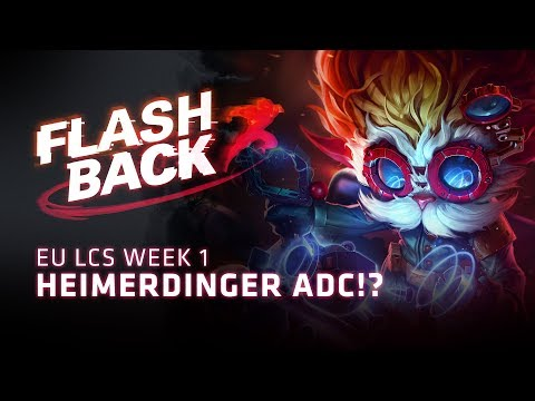 FLASHBACK // Pros Play Patch 8.11 (2018 EU LCS Summer Week 1)