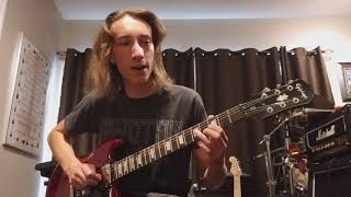 Greta Van Fleet - When The Curtain Falls (guitar lesson) (part 2)