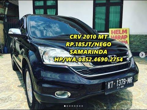 Dijual Mobil Honda CRV tahun 2010 type 2000cc manual Samarinda