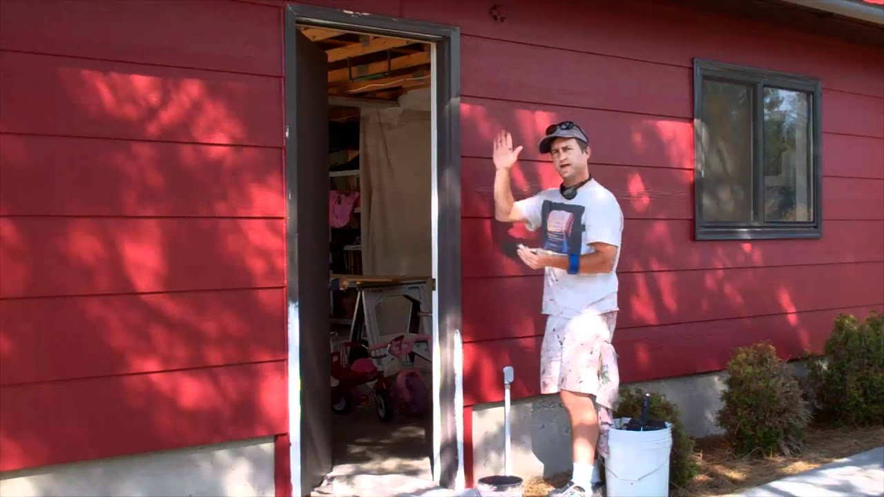Exterior Painting Step 8: Painting the Trim - YouTube
