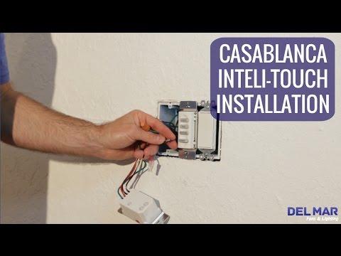 casablanca inteli touch wall control installation youtube casablanca fans inteli•touch dual w 32 installation