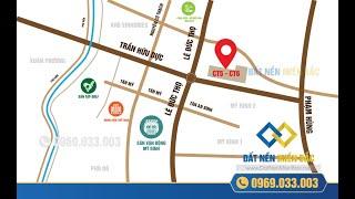 Vị trí dự án Chung Cư CT5 CT6 Lê Đức Thọ