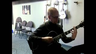 Robert Burton Winnipeg -  Every Day I Thank You (opening excerpt) - 7 String Guitar