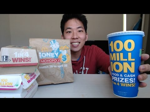 BigMac, 20 Chicken Nuggets, and Fries from McDonalds [MUKBANG/EATING SHOW]