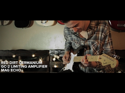 Keeley Electronics - Red Dirt Germanium + GC-2 + Mag Echo