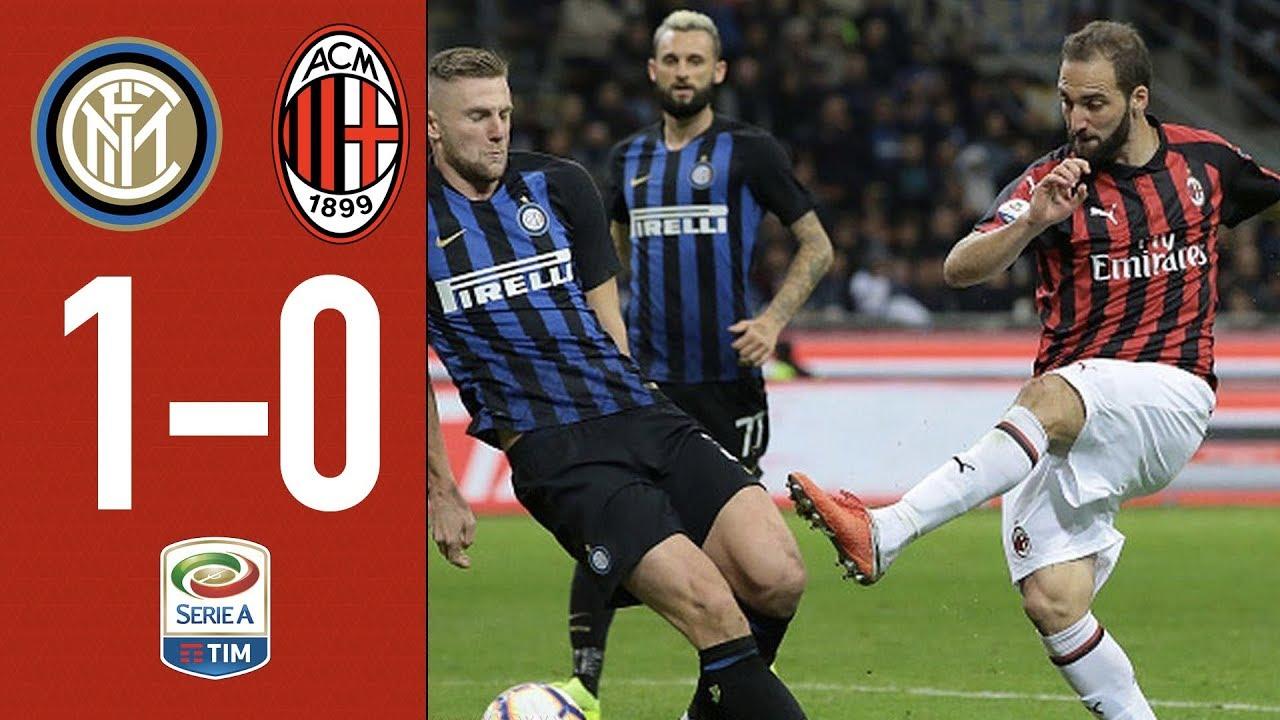 Download Inter 1-0 AC Milan - Highlights - Matchday 10 Serie A TIM 2018/19