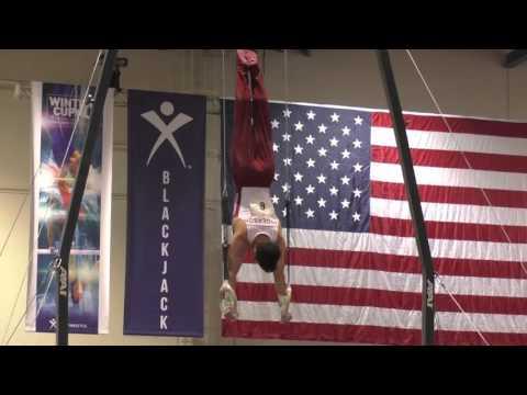 Levi Anderson – Still Rings – 2016 Winter Cup Finals